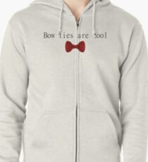 Bow Ties are Cool Zipped Hoodie