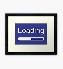Loading Framed Print