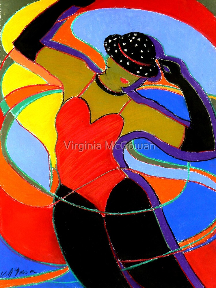 Jazz Dancer by Virginia McGowan