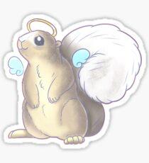 White Tailed Squirrel Sticker