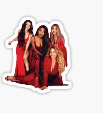 Fifth Harmony Red Sticker