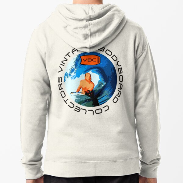 Vintage Bodyboard Collectors - Design 1 Zipped Hoodie