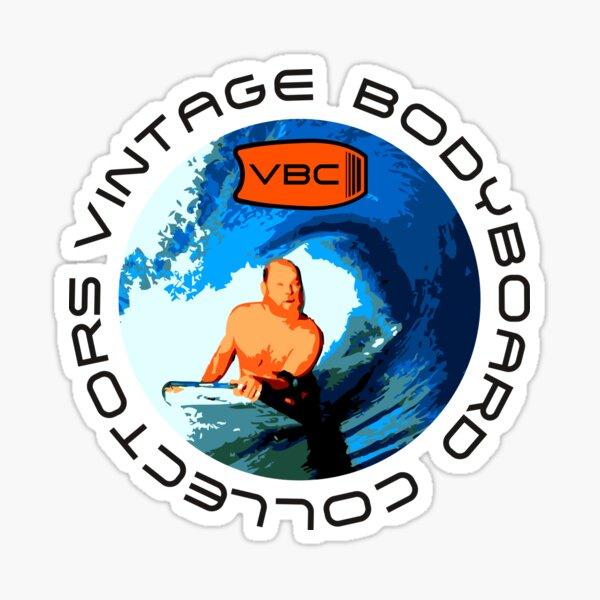 Colectores Vintage Bodyboard - Diseño 1 Pegatina