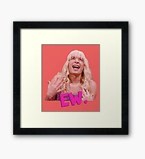 Jimmy Fallon Ew Gift Framed Print