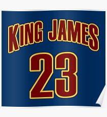 King James Jersey Script 3 Poster