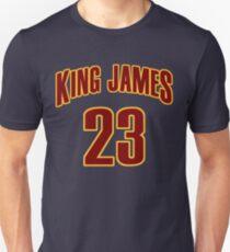 King James Jersey Script 3 T-Shirt