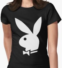 Playboy bunny Womens Fitted T-Shirt