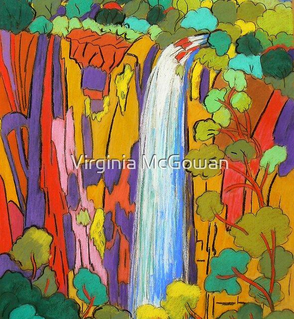 Purlingbrook Falls 2 by Virginia McGowan