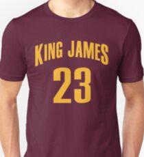 King James Jersey Script 1 Unisex T-Shirt