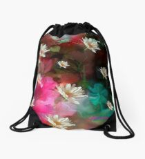 The Seeds Of A Flower Drawstring Bag