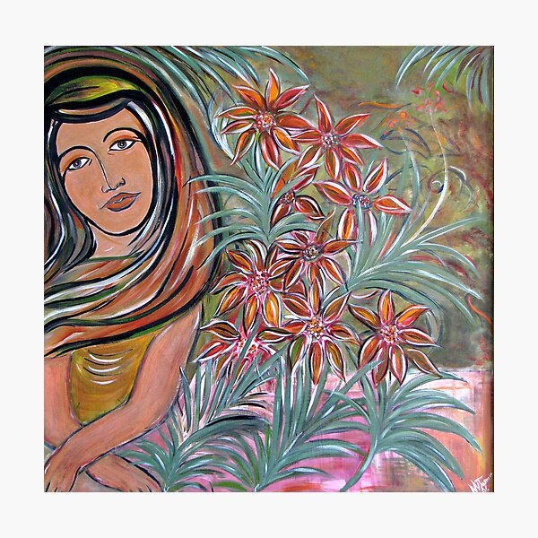 by the orchids garden Photographic Print