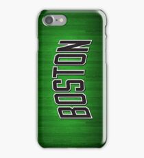 Lean Mean and Green Boston Celtics iPhone Case/Skin