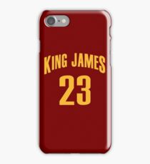 King James Jersey Script 1 iPhone Case/Skin
