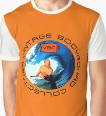 Vintage Bodyboard Collectors - Design 2 Graphic T-Shirt