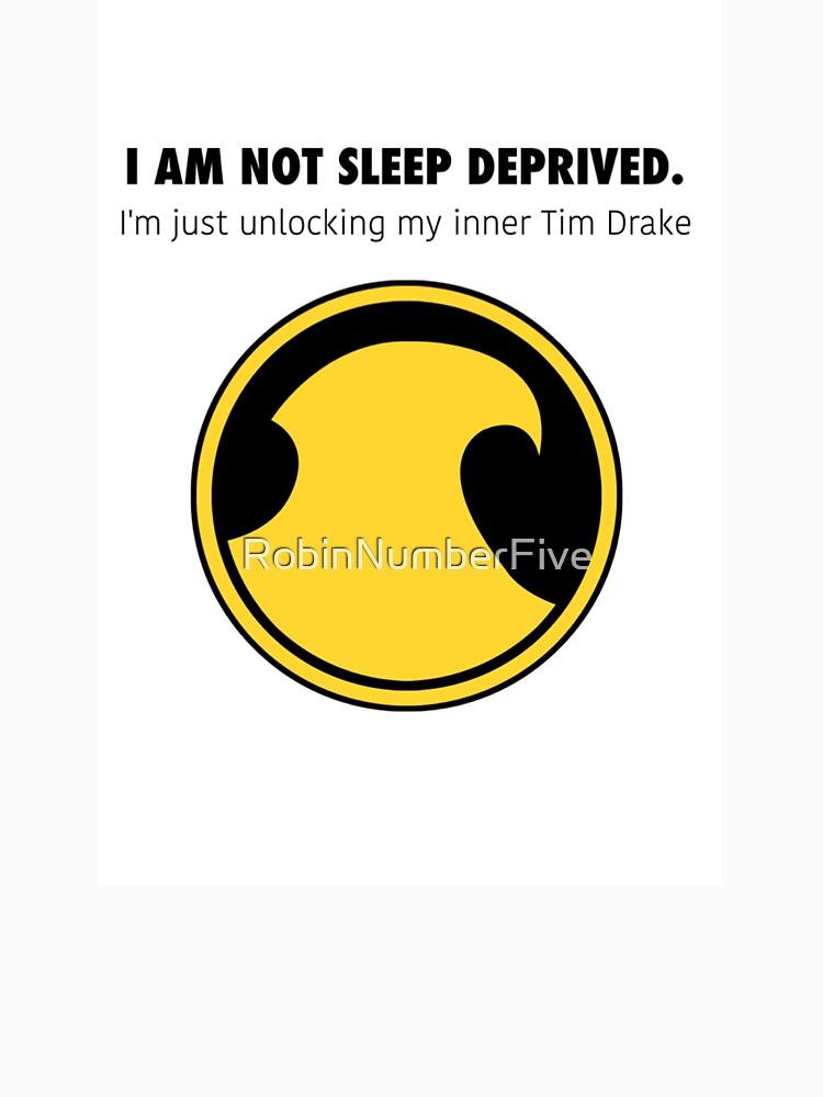 Tim Drake - Not sleep deprived  by RobinNumberFive