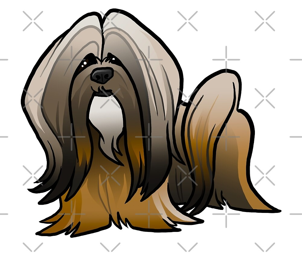 Lhasa Apso by binarygod