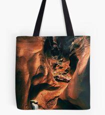 Spooky Slot Canyon Tote Bag