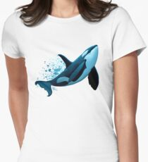 """""""The Dreamer"""" by Amber Marine ~ orca / killer whale painting, art © 2015 T-Shirt"""