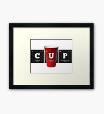 Chemistry - Periodic Table Elements: CUP Framed Print