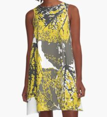 aspen leaves A-Line Dress