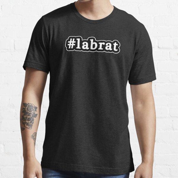 Lab Rat - Hashtag - Black & White Essential T-Shirt