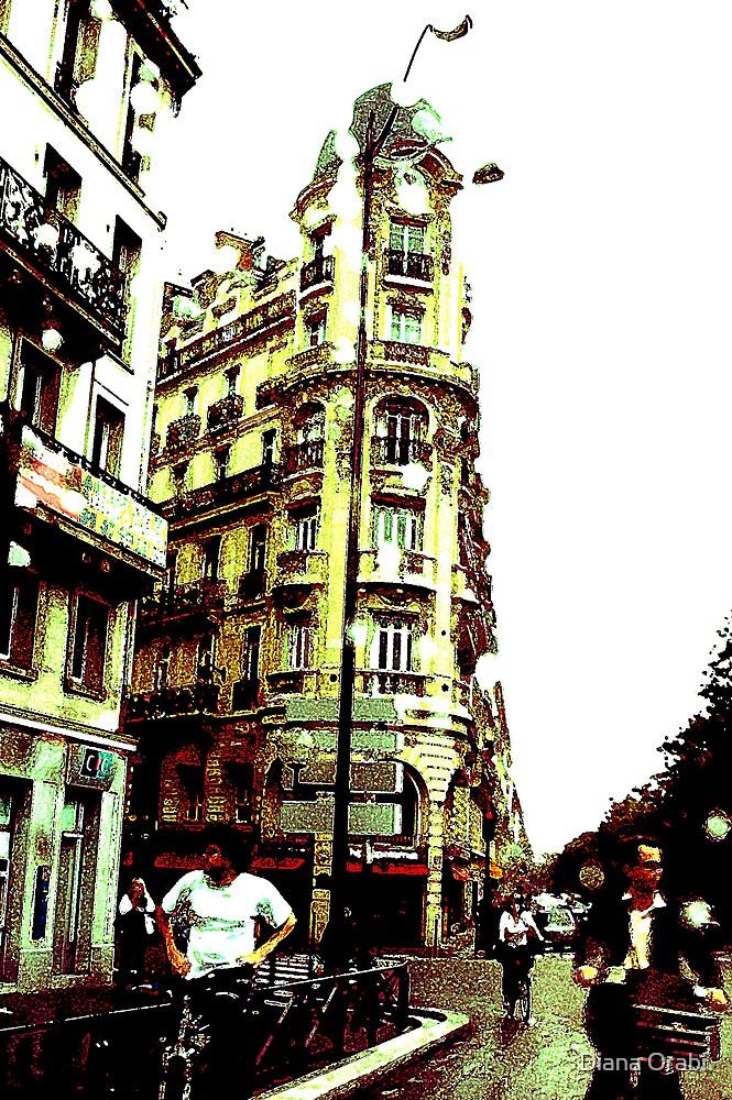Thats Paris by Diana Orabi