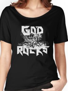 Pegasus - GOD ROCKS Women's Relaxed Fit T-Shirt