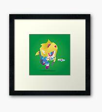 Link - The Legend of Zelda: Breath of the Wild | PopMuertos 2017 Framed Print