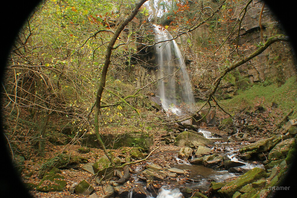 Welsh Waterfall 2 by mtamer