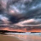 Stormy Sunset by Annette Blattman