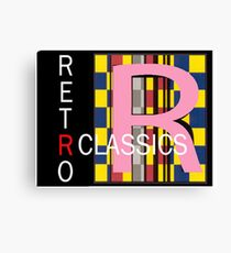 Another Retro Classic logo Canvas Print