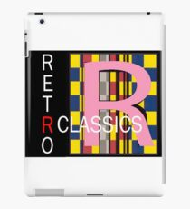 Another Retro Classic logo iPad Case/Skin