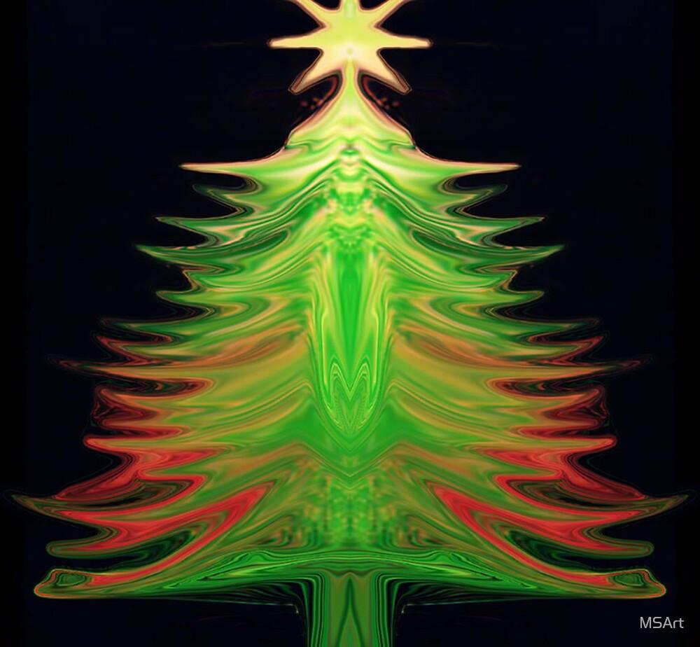 OChristmas Tree by MSArt