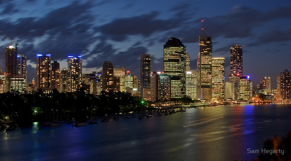 Brisbane City by Sam Hegarty