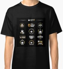 Coffee Labels Collection Classic T-Shirt