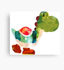 The Very Hungry Dinosaur (No Text) Canvas Print