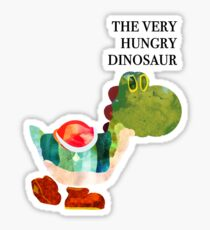 The Very Hungry Dinosaur (Text) Sticker
