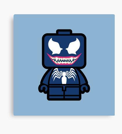 Venom Chibi Canvas Print