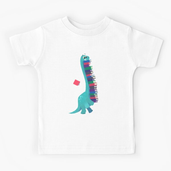 BOOK DINOSAURS 01 Kids T-Shirt