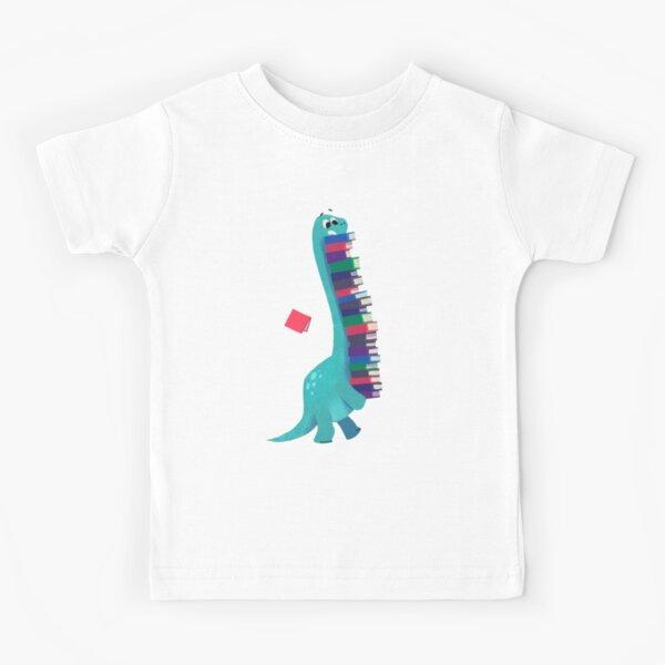LIVRE DINOSAURES 01 T-shirt enfant