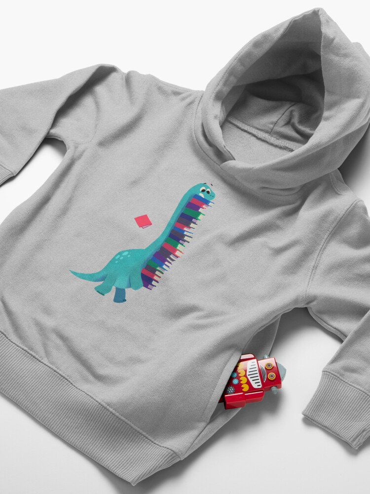 Alternate view of BOOK DINOSAURS 01 Toddler Pullover Hoodie