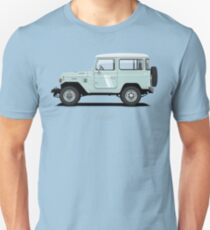 Land Cruiser FJ40 HardTop Blue T-Shirt