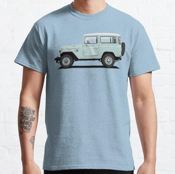 Land Cruiser FJ40 HardTop Blue Classic T-Shirt