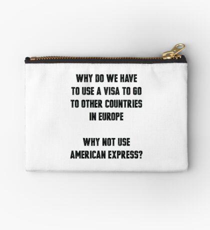 Europäisches Visum Täschchen