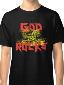 Pegasus - GOD ROCKS crafted in color Classic T-Shirt