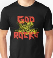 Pegasus - GOD ROCKS crafted in color T-Shirt