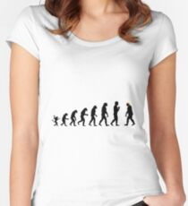 Trump evolution Women's Fitted Scoop T-Shirt