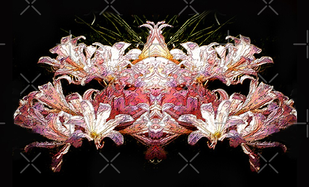 Flower Fish by Tammy Soulliere