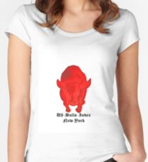 Bull US-Bulls-Index Women's Fitted Scoop T-Shirt