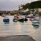 Porthleven harbour 2 by Steve plowman